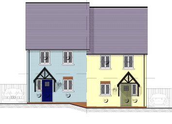 Thumbnail 4 bedroom end terrace house for sale in 7 Maes Yr Orsaf (The Cilgerran), Plot 7, Station Road, Narberth
