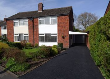Thumbnail 3 bed semi-detached house for sale in Dalesford Crescent, Macclesfield