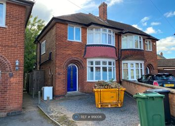 Thumbnail 4 bed semi-detached house to rent in Oaklands Avenue, Loughborough