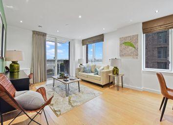 Shackleton Way, Royal Albert Wharf, London E16. 3 bed flat for sale
