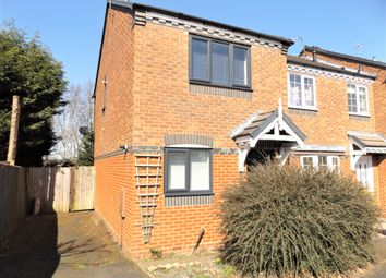 Thumbnail 2 bed semi-detached house to rent in Hodson Way, Cannock