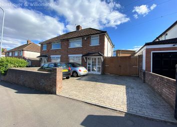Thumbnail 3 bed semi-detached house for sale in Elgar Crescent, Llanrumney, Cardiff.