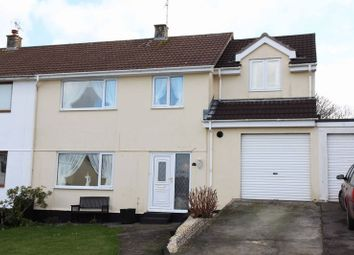 Thumbnail 5 bed semi-detached house for sale in Lanherne Avenue, St. Mawgan, Newquay