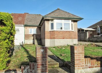Thumbnail 3 bed bungalow for sale in Vicarage Gardens, Plymouth