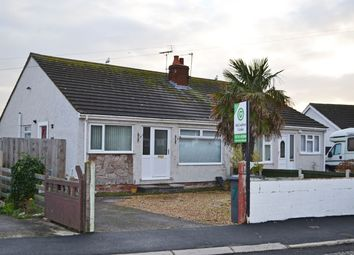 Thumbnail 2 bed semi-detached bungalow for sale in Pen Lan, Towyn