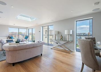 Thumbnail 2 bed flat for sale in Abbey Road, South Hampstead, London