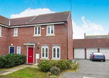Thumbnail 3 bed end terrace house to rent in Brooks Close, Wootton, Northampton