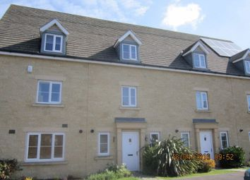 Thumbnail 3 bed terraced house to rent in Greenacre Way, Bishops Cleeve, Cheltenham