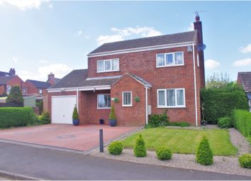 Thumbnail 3 bed detached house for sale in Washington Close, Littlethorpe, Ripon