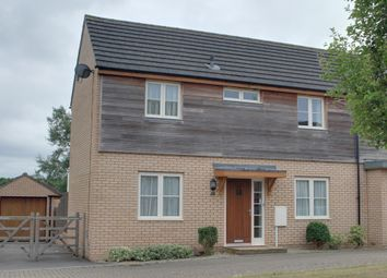 Thumbnail 3 bedroom semi-detached house to rent in Newington Gate, Ashland, Milton Keynes