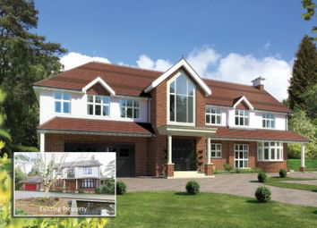 Thumbnail 5 bed detached house for sale in Western Avenue, Branksome Park, Poole