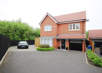 Thumbnail 4 bed detached house for sale in Partisan Green, Westbrook, Warrington