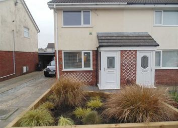 Thumbnail 2 bed semi-detached house to rent in Scales View, Millom, Cumbria