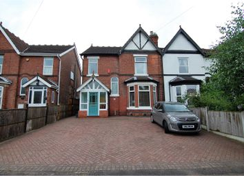 Thumbnail 4 bedroom semi-detached house for sale in Waverley Avenue, Gedling