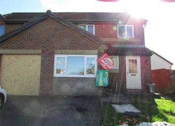 Thumbnail 3 bed semi-detached house for sale in Ffordd Briallu, Llansamlet, Swansea, West Glamorgan