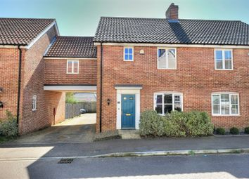 Thumbnail 3 bed terraced house for sale in Vanguard Chase, Norwich