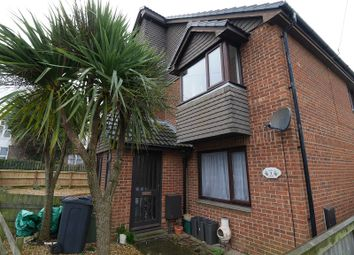 Thumbnail 2 bed end terrace house to rent in James Mews, Cemetery Road, Sandown, Isle Of Wight.