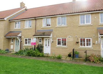 Thumbnail 3 bedroom terraced house for sale in Laburnum Close, Wymondham