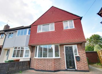 Thumbnail 3 bedroom end terrace house for sale in Norfolk Crescent, Sidcup