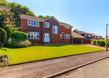 Thumbnail 4 bed detached house for sale in Coppice Close, Stockport