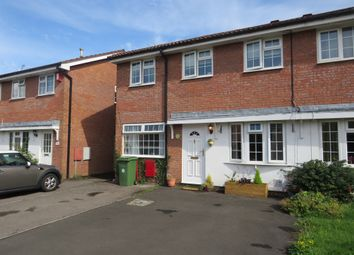 Thumbnail 3 bedroom semi-detached house for sale in Glenrise Close, St. Mellons, Cardiff
