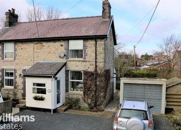 Thumbnail 2 bed semi-detached house for sale in Llandegla, Wrexham