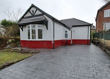 Thumbnail 2 bedroom detached bungalow for sale in Woodhill Drive, Prestwich, Manchester