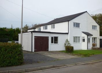 Thumbnail 4 bed semi-detached house for sale in Lon Lwyd, Pentreath, Anglesey, North Wales