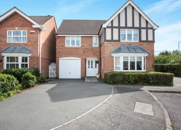 Thumbnail 4 bed detached house for sale in Brudenell Close, Cawston, Rugby
