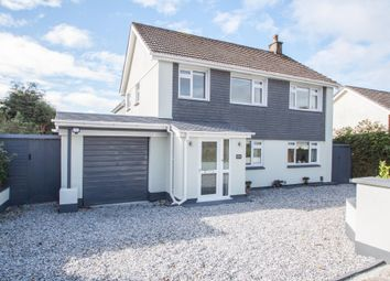Thumbnail 4 bed detached house for sale in Widewell Road, Plymouth