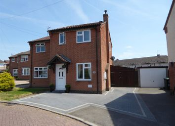 Thumbnail 3 bed semi-detached house for sale in Primrose Meadow, Midway, Swadlincote