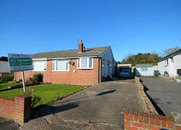 Thumbnail 2 bed semi-detached bungalow for sale in Haymoor Road, Oakdale, Poole