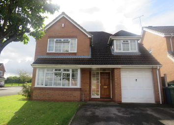 Thumbnail 4 bed detached house for sale in Lara Close, Castlefields, Stafford