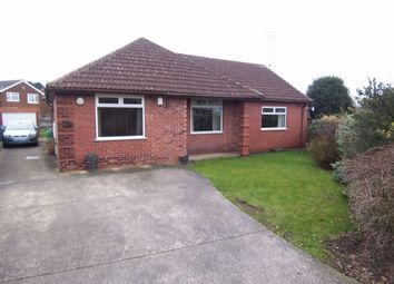 Thumbnail 3 bed detached bungalow to rent in Woodland Road, Forest Town, Mansfield, Nottinghamshire