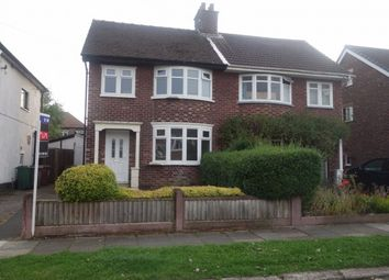 Thumbnail 3 bed semi-detached house to rent in Malpas Drive, Wirral