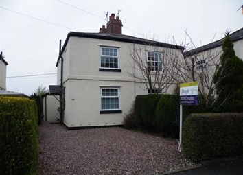 Thumbnail 2 bed cottage to rent in Church Street, Davenham, Northwich