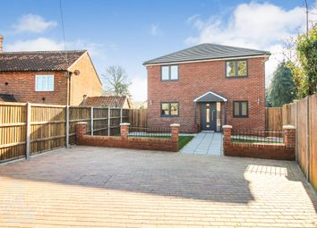 Thumbnail 4 bed detached house for sale in Mill Road, Hethersett, Norwich