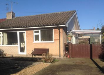 Thumbnail 2 bedroom bungalow to rent in Pudding Lane, Scarborough, North Yorkshire