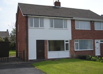 Thumbnail 3 bed semi-detached house to rent in Sherwood Crescent, Market Drayton