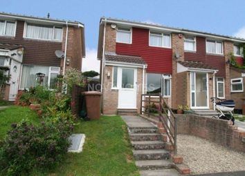 Thumbnail 2 bed end terrace house for sale in Rigdale Close, Eggbuckland