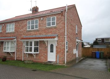 Thumbnail 3 bed semi-detached house for sale in Forge Court, Thorngumbald, East Riding Of Yorkshire
