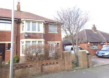 Thumbnail 3 bed semi-detached house to rent in Kingsley Road, Blackpool
