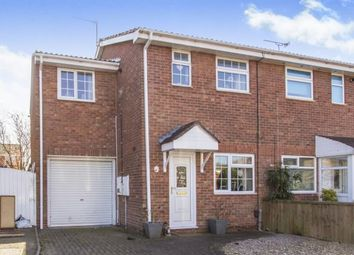 Thumbnail 3 bedroom semi-detached house for sale in Plover Crescent, Anstey Heights, Leicester, Leicestershire