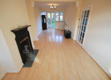 Thumbnail 3 bed terraced house to rent in Jubilee Road, Greenford, Middlesex