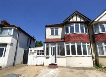 Thumbnail 3 bed semi-detached house to rent in Langdale Gardens, Perivale