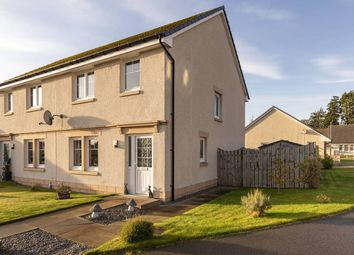 Thumbnail 3 bed semi-detached house for sale in Round House Avenue, North Kessock, Inverness