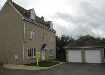 Thumbnail 5 bed detached house to rent in Hardy Close, Longstanton, Cambridge