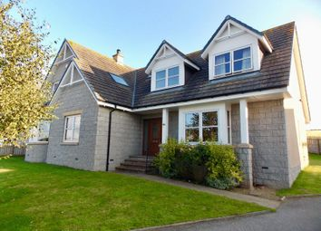 Thumbnail 5 bed detached house for sale in Strone Crescent, Alford