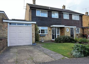 Thumbnail 3 bed semi-detached house for sale in Buttermere Avenue, Dunstable