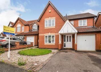 Thumbnail 4 bed detached house for sale in Allerton Drive, Leicester, Leicestershire
